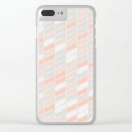 Pattern Rose 1 Clear iPhone Case