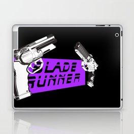 Time to die Version Neon Purple Laptop & iPad Skin