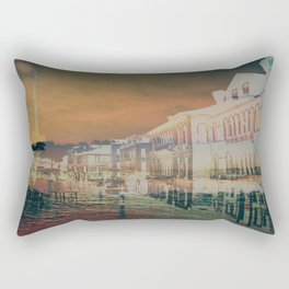 Sinking Streets Rectangular Pillow