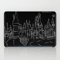 hogwarts iPad Cases featuring Hogwarts Castle by Jessica Slater Design & Illustration
