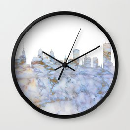 Buffalo New York Skyline Wall Clock
