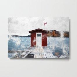 Swift Current, Newfoundland and Labrador Metal Print