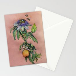 """Passiflora Caerulea """"Blue Passion Flower"""" by Betsy VanDeusen Stationery Cards"""
