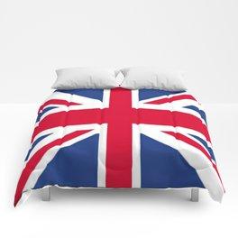 Union Jack 🇬🇧 Flag Of The United Kingdom ♚ Comforters