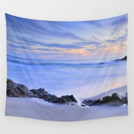 Monsul beach at sunset Wall Tapestry