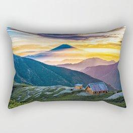 Mt Fuji I Rectangular Pillow