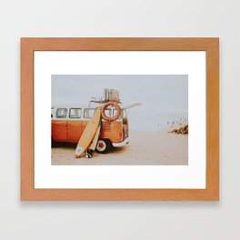 lets surf viii Framed Art Print