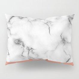 Marble & copper Pillow Sham