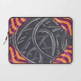 Junction - purple/orange Laptop Sleeve