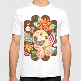 The forest of flower T-shirt