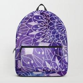 Leaves mandala n.1 Backpack