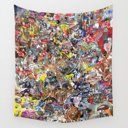 BQ2127 - Rocket Deception Wall Tapestry