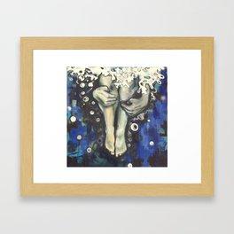 Cannon Ball Baptism Framed Art Print