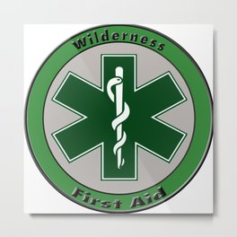 Wilderness First Aid Metal Print