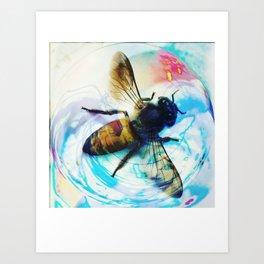 'Honeybee'  Art Print