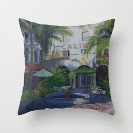Cafe Del Sol Throw Pillow