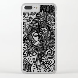Intimacy Clear iPhone Case