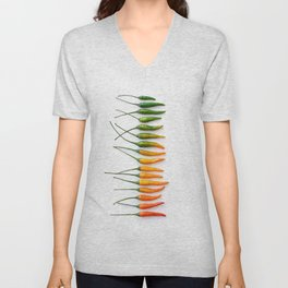 Hot Pepper Gradient Unisex V-Neck
