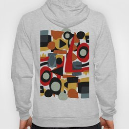 Formes amusantes Abstract Pattern Art Hoody