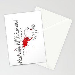 Hasta los huevos Stationery Cards