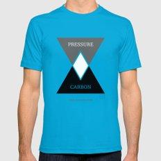 Venn Diamondgram Teal Mens Fitted Tee SMALL