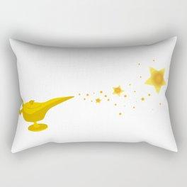 Magic Lamp Backdrop Rectangular Pillow