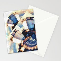 Tiny Winy Planet Collage Stationery Cards