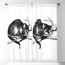 Alice in Illustration C15 Wonderland Cheshire Cat Print Blackout Curtain