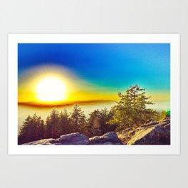 Oregon Wasteland Art Print