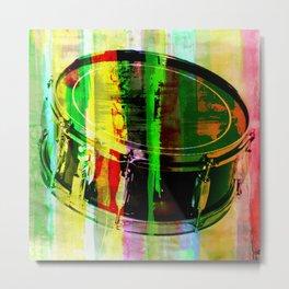Drum Abstract Metal Print