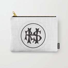 Hudson River State Hospital Initials Carry-All Pouch