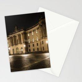 Berlin Humboldt University at Night Stationery Cards