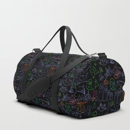 Spooky Cats and Ghosts Duffle Bag
