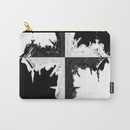 It's Black And White Carry-All Pouch