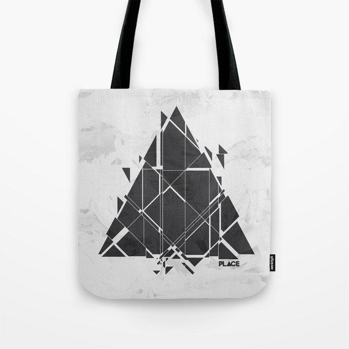 PLACE Triangle V2 Tote Bag