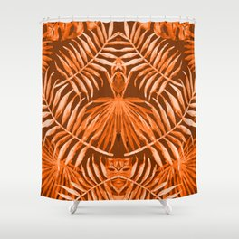 HULA GIRL and The Masked Dancer #tropical #society6 Shower Curtain