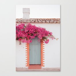 Summer Door Canvas Print