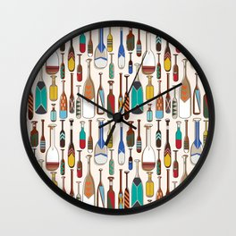 not that kind of paddle Wall Clock