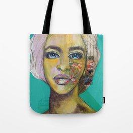Bea Turquoise Tote Bag