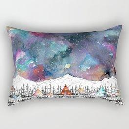 Mountain Camp Vibes Rectangular Pillow