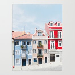 Colorful Buildings Poster