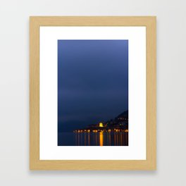 Monteisola By Night Framed Art Print