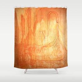 Spigot Shower Curtain
