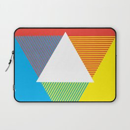 Color Wheel, design by Christy Nyboer Laptop Sleeve