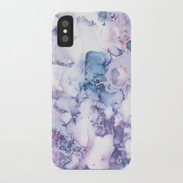 Painted Marble Texture iPhone Case
