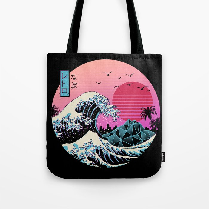 The Great Retro Wave Tote Bag