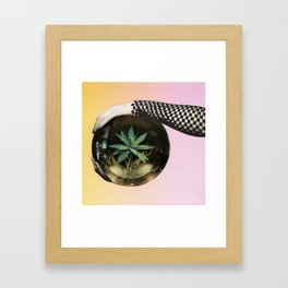 Fortune Teller Framed Art Print