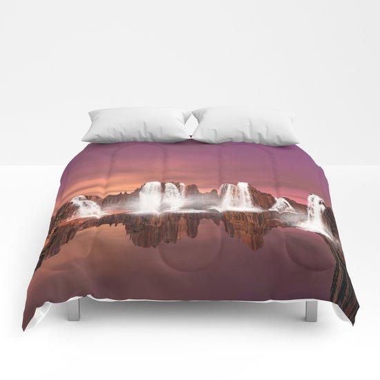 Waterfalls  Comforters