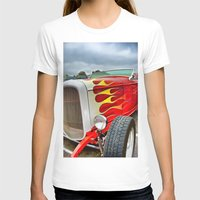 ford T-shirts featuring 32' Ford by Dave Johnson