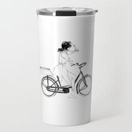 Anita | Fashion illustration Travel Mug